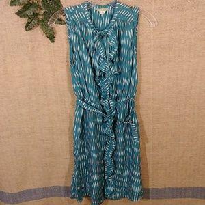 Anthropologie 100% silk dress size 2
